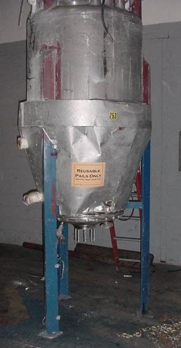 stainless tank.