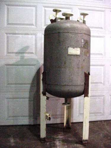 75 gallon Stainless Steel Pressure Tank
