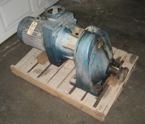 8.3  hp Eurodrive