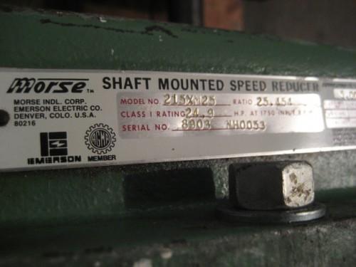 Morse Shaft Mount Gear Reducer