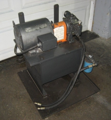 10 hp racine hydraulic power pack 10 gallon tank for 10 hp hydraulic motor