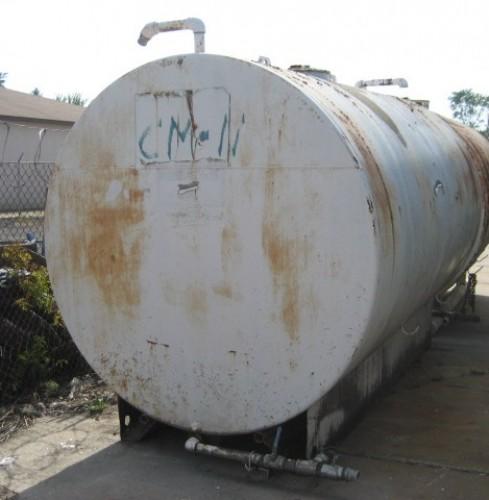 000 gallon Horizontal Carbon Steel Tanks. (qty 5)