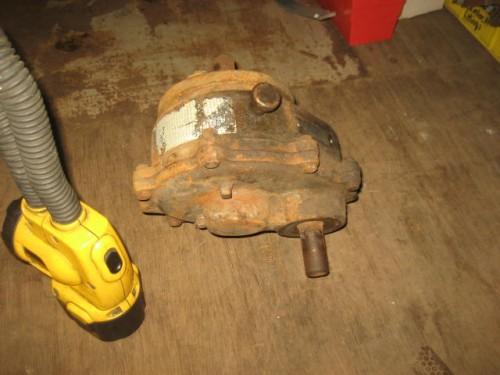 Viking Pump Gear Reducer.