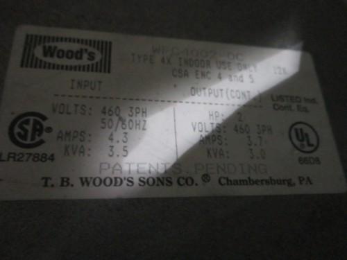 2 hp TB Woods AC Inverter