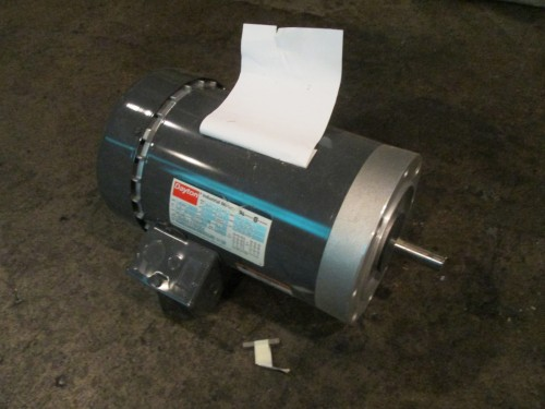 2 hp dayton electric motor 1725 rpm tefc for 2 hp electric motor 1725 rpm