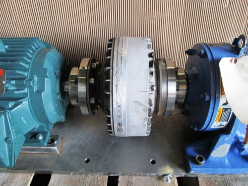 5 HP Gear Reduced Drive with Fluid Coupling