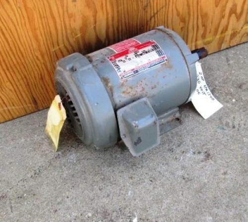 2 Hp Dayton Tri Volt Electric Motor 1740 Rpm