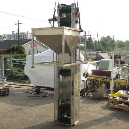New England Bucket Conveyor soft unloader.