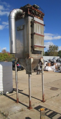 Ultra Industries Inc. Pulse Jet Dust Collector.
