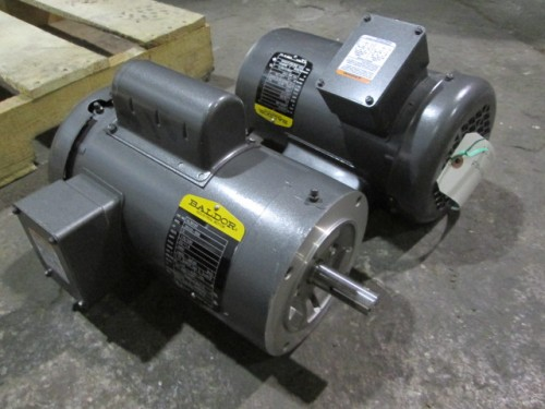 2 hp baldor motor new single phase 3450 rpm qty 4 for 20 hp single phase motor
