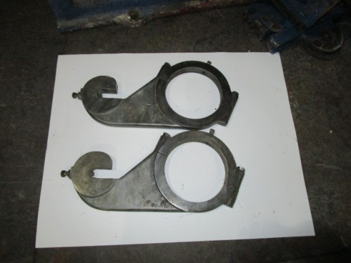 Apron Hooks for J.H. Day Three Roll Mill