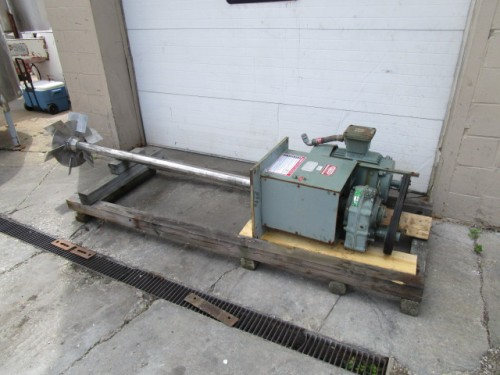 used 15 hp Myers Engineering Mixer Disperser