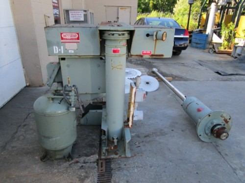 used 60 hp Myers High Speed Disperser