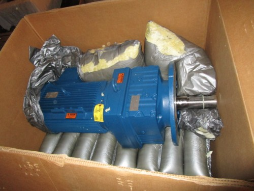 unused 25 hp SEW Eurodrive gear reduced drive.