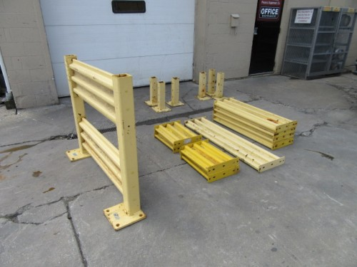 Guard Rail with posts