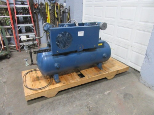 2 hp Ingersoll Rand Air Compressors.  2 compressors one tank