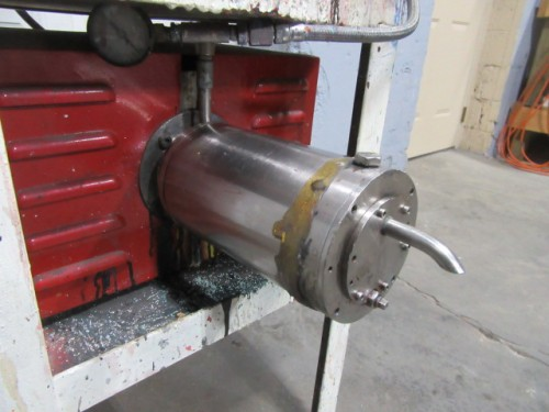 jacketed chamber