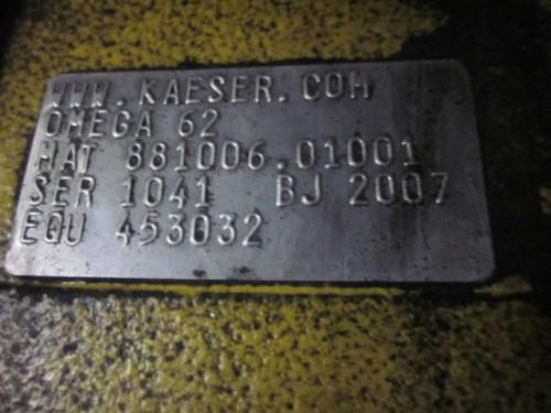 75 hp Kaeser Omega 62