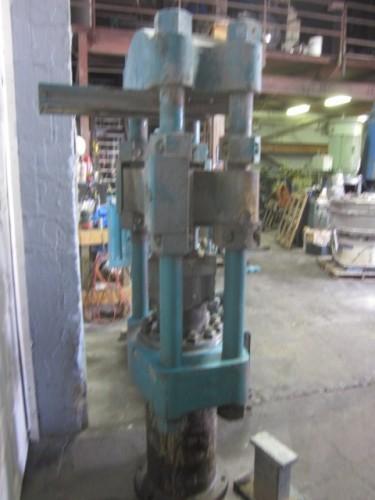 One(1) used HPM Hydraulic 4-Post Press