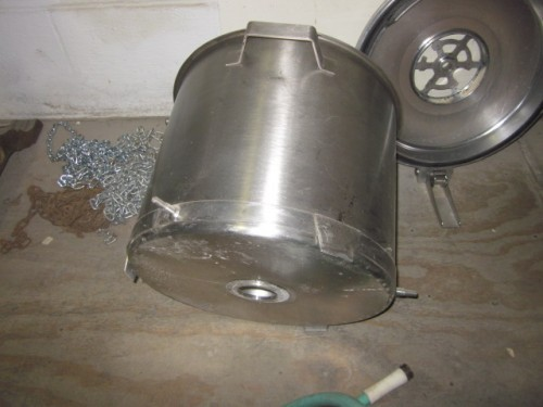 60 qt. Robot Coupe Tank with 3 sets of chopper blades