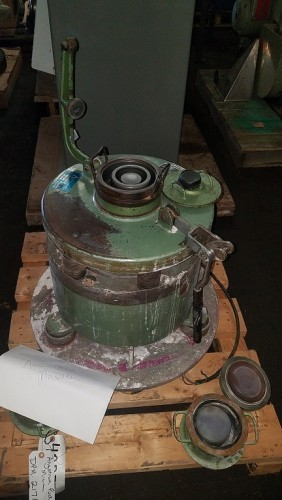 One(1) used Angstrom Siebtechnic Puck Mill Pulverizer