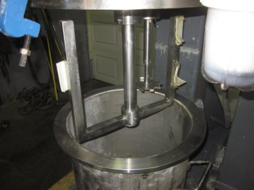 5 gallon Dual Shaft Vacuum Disperser