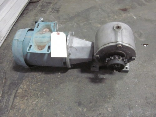 3/4 hp Hyrtrol Gear Reduced Right Angle Drive.