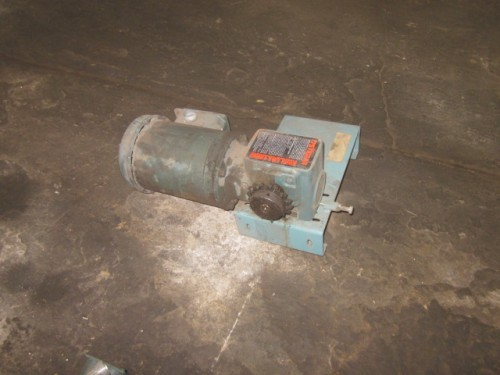 1 hp Dodge Tigear Gear reduced drive.