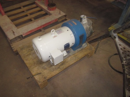 10 hp Silverson Single Mechanical Seal Homogenizer.