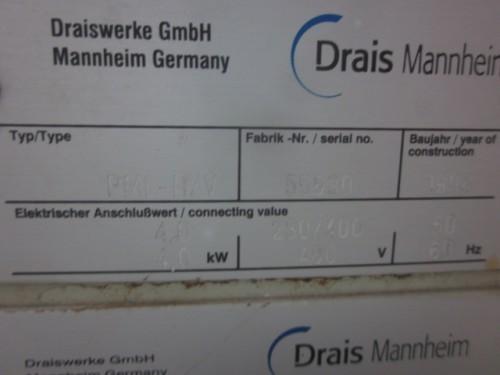 1/2 liter Drais Mannheim Lab Perl Media Mill.