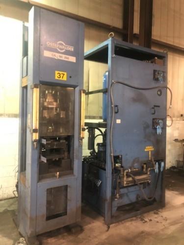 28 ton Osterwalder Powder Compacting Press