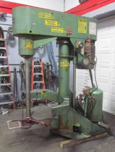 one(1) used 60 hp Schold Co-axial Disperser.