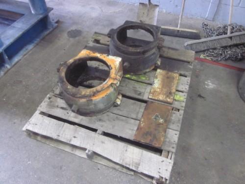 Babbit bearings for ball mill