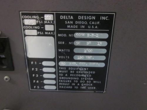 used Delta Design Environmental Chamber