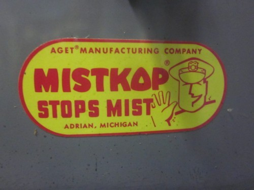 Aget Manufacturing Co. Mistkop Collector