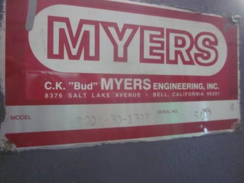 30 hp Myers High Speed Disperser