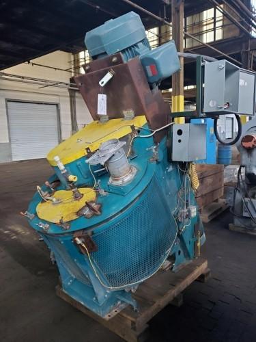 Eirich RO9W high intensity mixer