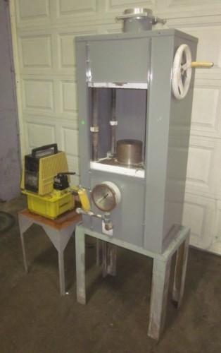 50 ton Loomis 4-post Hydraulic Press