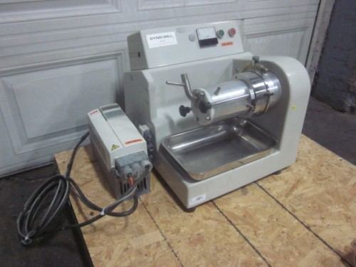 One(1) used WAB Dyno-mill Lab Horizontal Media Mill Type KDL