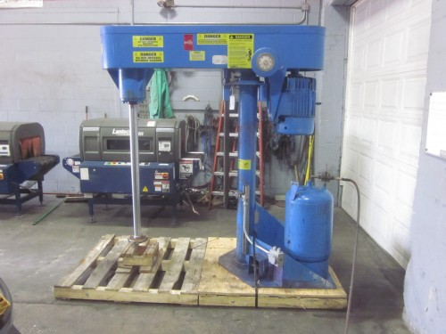 used 30 hp Schold High Speed Disperser