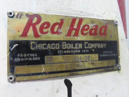 Chicago Boiler Sandmill