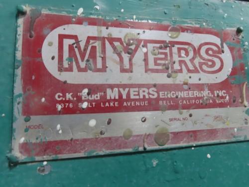 25 hp Myers Engineering High Speed Disperser