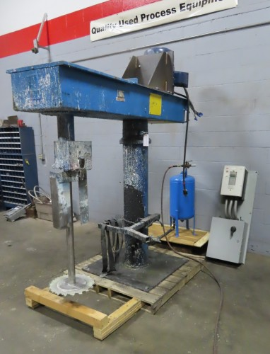 used 30 hp Hockmeyer High Speed Disperser