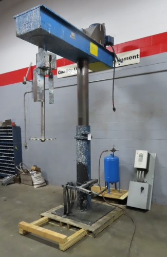 30 hp Hockmeyer High Speed Disperser