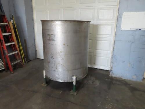 300 gallon Stainless Steel Tank.
