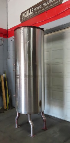 260 gallon stainless steel jacketed tank