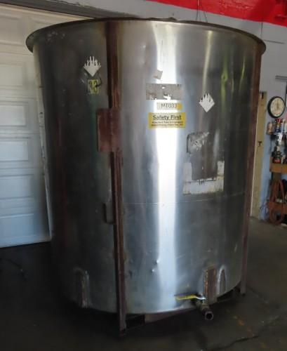1500 gallon stainless steel tank