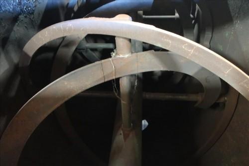 196 cu ft Double Ribbon Blender
