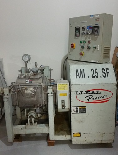 25 liter(approx. 6 gallon) Double Arm Stainless Steel Sigma Blade Mixer