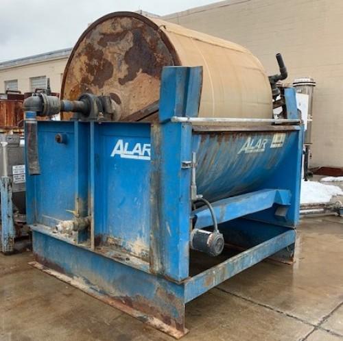 6' x 5' Alar Rotary Vacuum Precoat Drum Filter